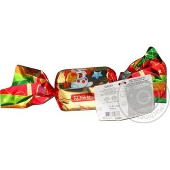 Подарунок нов.цук.Рошен Святкова цукерка №5 400г - купить, цены на Novus - фото 4