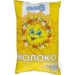 Молоко Молокия Сказочное пастеризованное 1.6% 930г пленка Украина