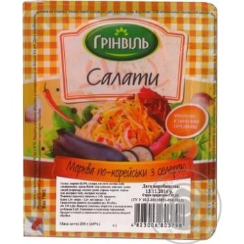 Салат Гринвиль Морковь по-корейски с сельдереем - купить, цены на Novus - фото 2