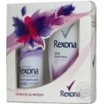 Набір подарунковий Rexona енергія твого дня