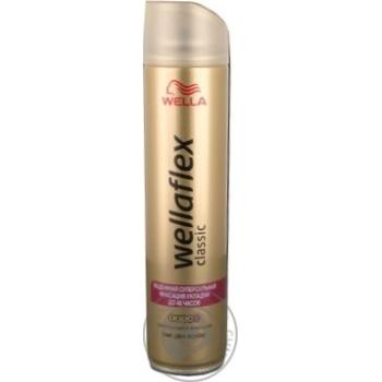 Лак для волос Wellaflex Классик суперсильная фиксация 250мл - купить, цены на ЕКО Маркет - фото 3