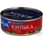 Кілька обсмажена у томатному соусі Kaija 240г