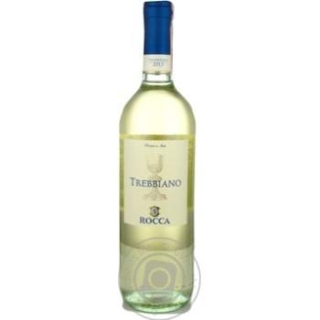 Вино Rocca Trebbianno Puglia IGT біле сухе 11,5% 0,75л - купити, ціни на Novus - фото 1
