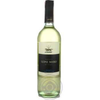 Вино Lupo Nero Bianco Terre Siciliane IGT белое сухое 12% 0,75л - купить, цены на Novus - фото 1