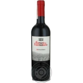 Вино Senorio de Fuentealamo Monastrel Jumilla DOP13,5% 0,75л