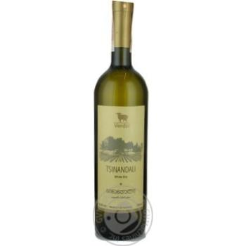Вино Koncho & Co Verdzi Tsinandali белое сухое 12.5% 0,75л