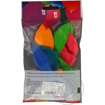 Кульки повітряні Party Favors Декоратор 5шт 61230/5 - купити, ціни на Novus - фото 2