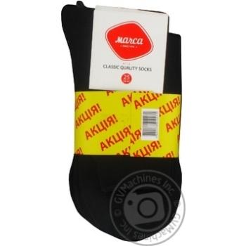 Шкарпетки чоловічі класичні Marca Classic розмір 25 М101U 5 пар акція - купить, цены на Novus - фото 1