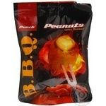 Snack peanuts Punch with the taste of barbecue salt 50g Ukraine