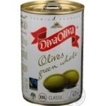 Оливки Diva Oliva зелені XXL з/к 425мл х12