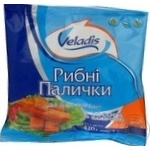 Fish sticks Veladis precooked 420g Ukraine