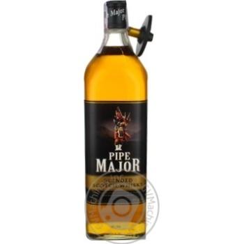 Віскі Шотландське купажоване Pipe Major 1л