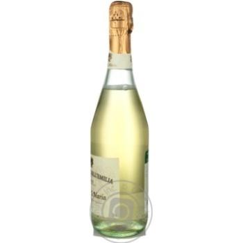 Cascina S.Maria Bianco Amabile Lambrusco dell'Emilia white semi-sweet sparkling wine 7.5% 0,75l - buy, prices for Novus - image 4