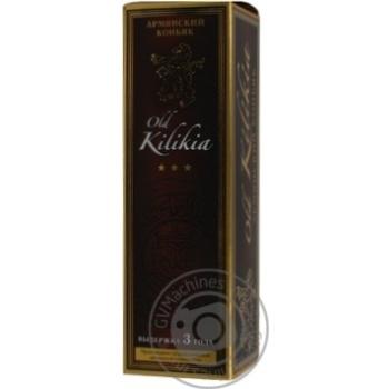 Коньяк Вірменський Old Kilikia 3 роки 40% в зв.бут.0,5л - купить, цены на Novus - фото 2