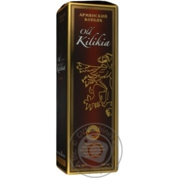 Коньяк Вірменський Old Kilikia 3 роки 40% в зв.бут.0,5л - купить, цены на Novus - фото 5