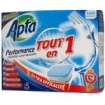Tablet Apta Private import for the dishwasher 32pcs 640g France
