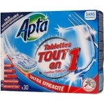 Таблетки для посудомийної машини Аpta 30шт