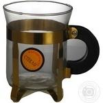 Стакан кавовий Чайна країна Класика золота 04-4090G 2шт 200мл