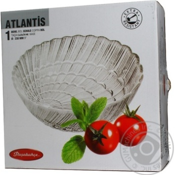 Салатниця Pasabahce Atlantis 10249 230мм 1шт - купить, цены на Novus - фото 2