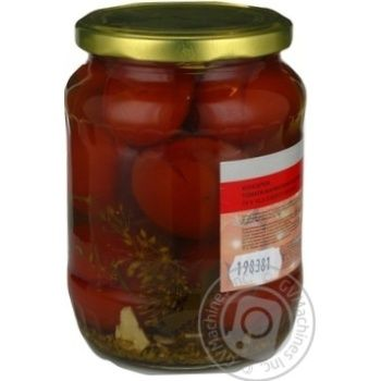 Marka Promо Pickled Tomatoes 680g - buy, prices for Novus - image 4