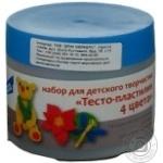 Набір творчості Тісто 4 кольори Малюки арт.ТА1055