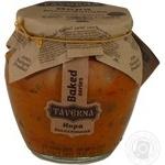 Caviar Taverna eggplant canned 580ml glass jar
