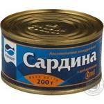 Сардина Аквамир атлантическая ндм ж/б №38 200г