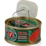 Caviar Ikornyi standart salmon red grain-growing 130g