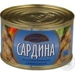 Рыба сардина Богатый улов консервированная 230г железная банка