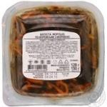 Капуста морська Санта Бремор з морквою по-корейськи 150г - купити, ціни на Фуршет - фото 2
