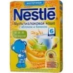 Каша мол.5 Злаків ябл./банан Nestle 250г