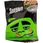 Snack Snekkin with taste of sour cream 35g