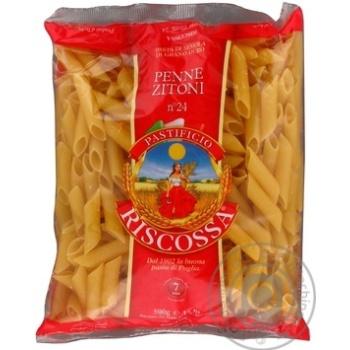 Riscossa №24 Penne Zitoni Pasta 500g