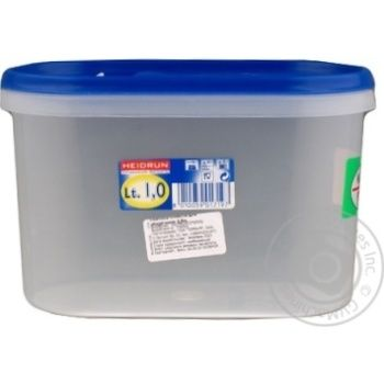 Food storage box for storage