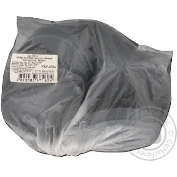Кришка для банки Пластторг пластикові кольорові 10шт - купити, ціни на МегаМаркет - фото 2