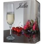 Wine glasses Giulia for champagne 6pcs 180ml Czech republic