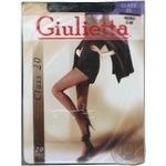 Giulietta Class Women's Tights 20D Nero Size 3