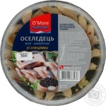 Fish herring O'more with spices pickled 180g