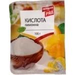 Lemon acid Pervyi riad for desserts 100g