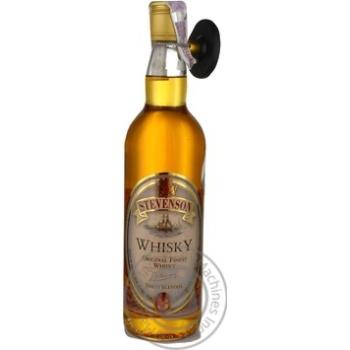 Виски Stevenson 40% 0,7л