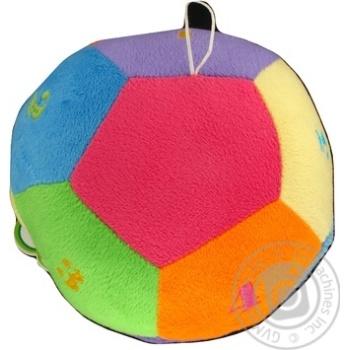 Игрушка мягкая Tigres Мяч с цифрами