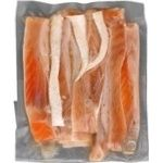 Fish salmon Flagman light-salted 250g vacuum packing