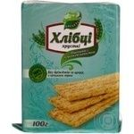 Хлебцы Галлети Хлебцы-Луганцы пшеничные с морской капустой без дрожжей и сахара 100г
