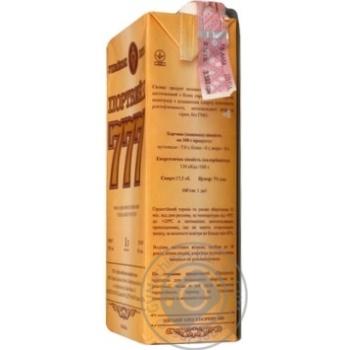 Вино белое Крымские Вина Портвейн 777 Белый ординарное крепкое 17.5% тетрапакет 1000мл Украина - купить, цены на Ашан - фото 4