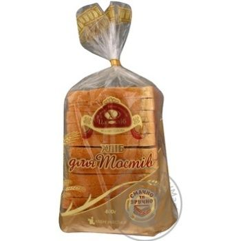 Bread Tsar hlib wheat cutting for toasts 350g packaged - buy, prices for Furshet - image 2
