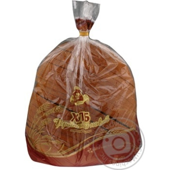 Хліб Цар Хліб Український нарізний в упаковці 0,95кг