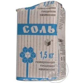Соль каменная Артемсоль кухонная 1.5кг - купить, цены на Novus - фото 4