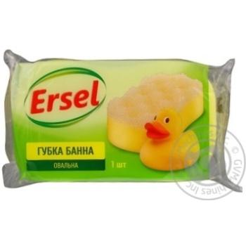 Губка банная Ersel 1шт