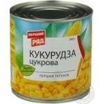 Vegetables corn Pervyi riad canned 340g can
