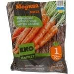 Овочі морква свіжа 1000г